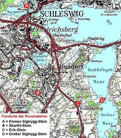 Haithabu Karte.Auf Den Spuren Der Wikinger In Danemark Haithabu Wikinger Museum